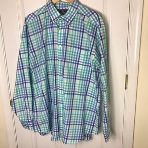 Vineyard Vines Slim Fit Murray Button Front Shirt
